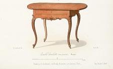 Table-Toilette (Genre Louis XV) Fermée.