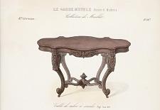 Table de salon à consoles Style Louis XVI.