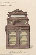 Buffet étagère de Salon. Genre Louis XVI.