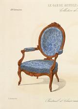 Fauteuil et Chaise médaillon. Nouveau modèle