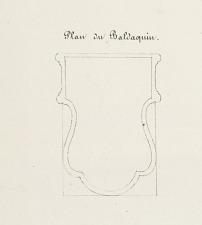 Plan du Baldaquin.