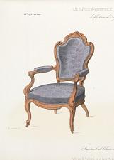 Fauteuil et chaise de salon