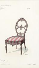 Fauteuil et chaise (Boudoir).