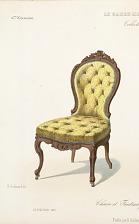 Chaise et Fauteuil pour Chambre à coucher.