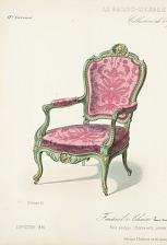 Fauteuil & Chaise Genre Louis XV