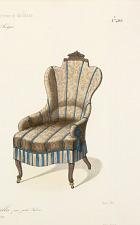 Fauteuil et Chaise confortable pour petit Salon.