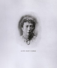 Portrait of Agnes Mary Clerke.