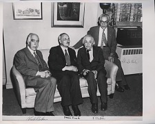 Portrait of Albert Einstein and Others.