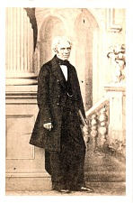 Portrait of Michael Faraday.