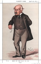 From Vanity Fair, April 26, 1873. No. 234, Men of the Day, No. 62.