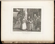Harlot's Progress: Plate I: Ensnared by a Procuress