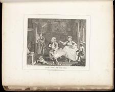 Harlot's Progress: Plate II: Quarrels with her Prosecutor