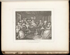 Harlot's Progress: Plate VI: The Funeral