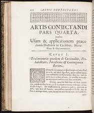 Artis conjectandi pars quarta