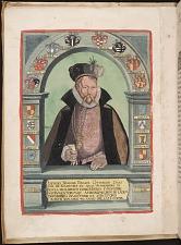 Portrait of Tycho Brahe.