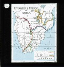 No. 15: Livingstone's Journey in Africa