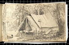 Campement près de Boungué - 16 février 1904 - Congo