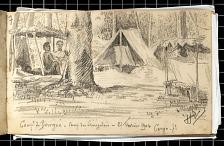 Camp. de Boungué - Camp des Sénégalais - 27 février 1904 - Congo