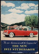 The New 1953 Studebaker