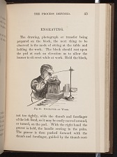 Fig. 43. Engraver at work