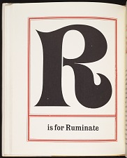 R is for Ruminate