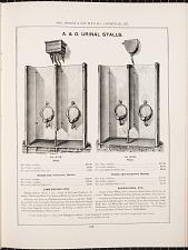 A. & O. Urinal Stalls