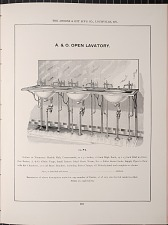 A. & O.  Open Lavatory