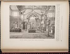 Figur 322. Ausstellung von Siemens & Halske in Berlin in der Eisenbahnhalle