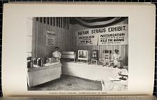 Nathan Straus Exhibit. Pasteurization of Milk.