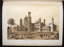 Smithsonian Institution, from the North East