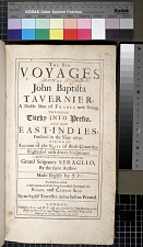 The Six voyages of John Baptista