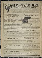 Velvets and Velveteens