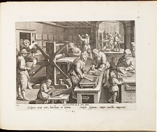 Early print shop.