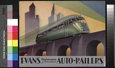Evans Dual-purpose Streamlined Auto-Railers