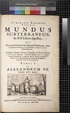 Mundus Subterraneus