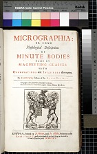 Micrographia: or, Some Physiological Descriptions of Minute Bodies Made by Magnifying Glasses