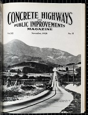 A portion of Highway No. 10, near Asheville, N.C.