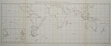 General Chart shewing the principal tracks of H.M.S. Beagle – 1831-6