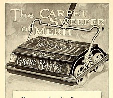 The carpet swifter of merit.