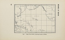 Fig. 1 Map of the Pacific, showing location of Bikini