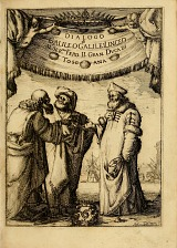 Galileo with Two Other Scholars