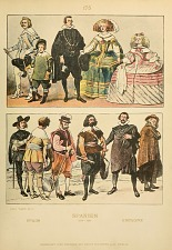 Spanish costumes.