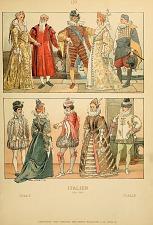 Italian costumes.