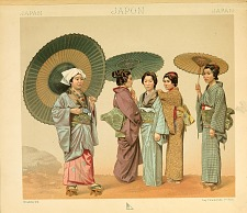 Japanese costumes.