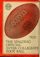 The Spalding offical inter-collegiate football