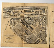 Plan of the Gardens of the Zoological Society of London in the Regent's Park.