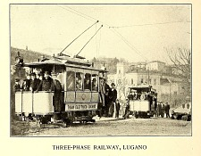 Three-phase railway, Lugano.
