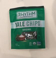 Kale chip bag, 2018