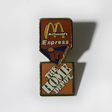 McDonald's partnership pin