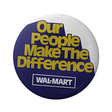 Our People Make the Difference pin, 1979